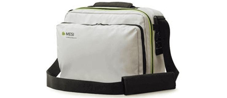 Taška určená na prenos mtabletu EKG ajeho príslušenstva